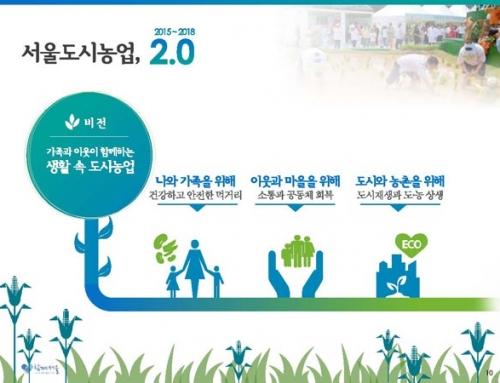 서울도시농업 2.0 마스터플랜
